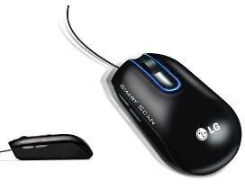LG LSM100 Laser- / Scanner Maus für PC und Mac für 47,90€ @ DC