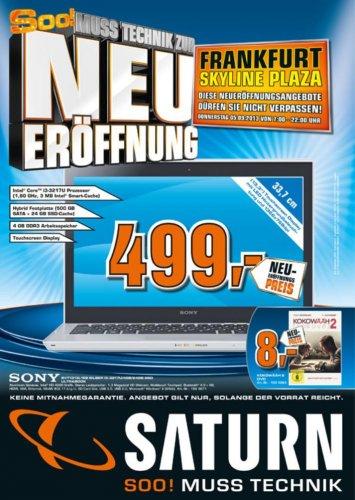 Ultrabook Sony SVT1313L1ES Silber i3-3217U