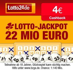 4€ Cahback bei Qipu für Registrierung + Spiel bei Lotto24 (mind. 1,60€)