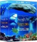 (UK) Jean-Michel Cousteau's 3D-Box ( Delfine und Wale, Haie, Weltwunder der Ozeane) (3 Disks) für 12.95 € @ Amazon