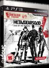 (UK) Metal Gear Solid 4 - Guns of the Patriots (25th Anniversary Edition) [PS3] für 19,93€ @ Shopto