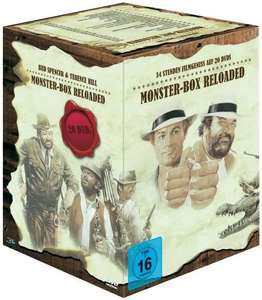 Bud Spencer & Terence Hill 20er Monster-Box Reloaded (20 DVD´s) für 47€ @Voelkner