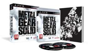 Metal Gear Solid: The Legacy Collection (MGS 1,MGS2,MGS3,MGS4,Peace Walker,MG1+MG2,Graphic Novels,Artbook)