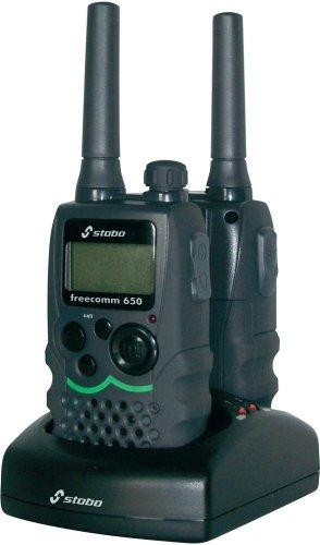 2er-Set Stabo Freecom 650, recht robuste PMR-Funkgeräte, bei Voelkner