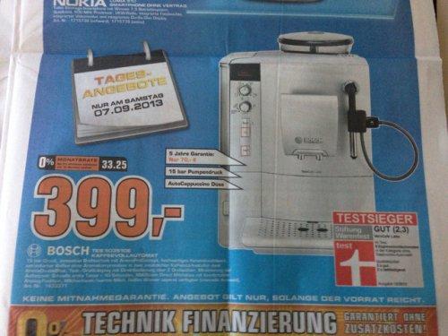 Bosch VEROCAFE Latte Vollautomat am 07.09. @saturn