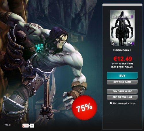 [STEAM] Darksiders 2 für 12,49€ bei Gamersgate