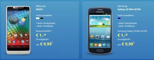 O² Basic Vertrag mit 300 MB Inet – 50Freiminuten und z.B. Sony Xperia T für 9,99€ monatl.