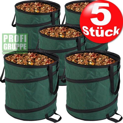 Gartensack / Laubsack 85 ltr. 5 Stück @ebay - gute Qualität handliche Größe á 5,78€ inkl. VSK