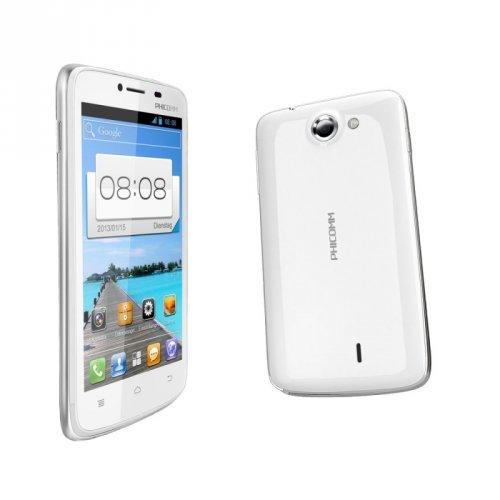 """PHICOMM i 600 DUAL-SIM Smartphone im Bild-Onlineshop (4,3"""" Dualcore, schwarz oder weiß)"""