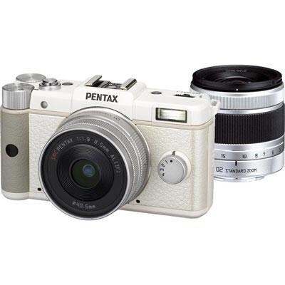 Pentax Q + Double Lense Kit 8,5 mm + 5-15 mm