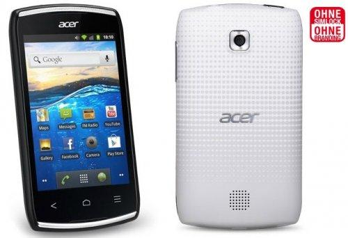 Acer Liquid Z110 Fingershot Schwarz Android WLAN GPS für 66,66€