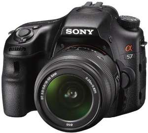 Sony Alpha 57 Kit 18-55 mm für nur 484,47 EUR inkl. Versand