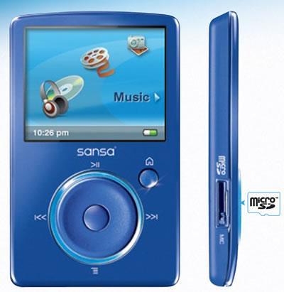 SanDisk Sansa Fuze 4GB *Refurbished*