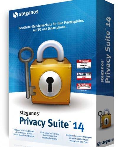 Steganos Privacy Suite für 9,95 EUR
