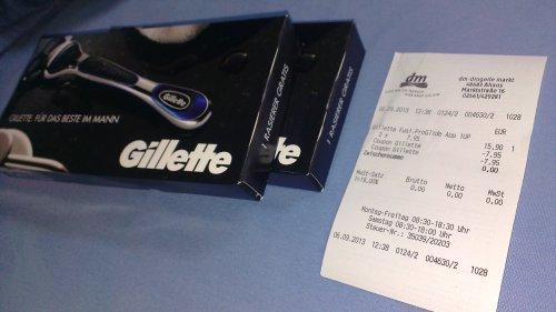 Freebie 2x Gillette Fusion ProGlide Offline/Lokal?