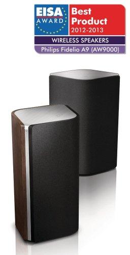 Amazon WHD -Philips Fidelio A9 (AW9000/10) Wireless HiFi Stereo-Speaker-Set