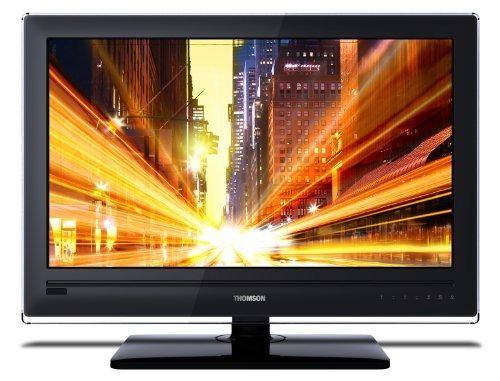 Blitz-Angebot AMAZON: Wieder da Thomson 19HS6244 48,3 cm (19 Zoll) LED-Fernseher (DVB-T, MPEG4, HD Ready, USB) hochglanzschwarz