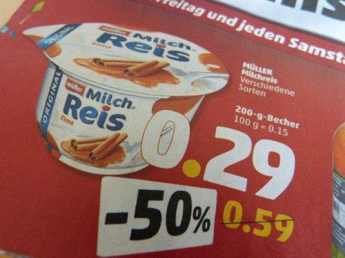 [Penny bundesweit] Müller Milchreis für 0,29€