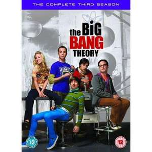 The Big Bang Theory Staffel 3 für ~11,20€ @Zavvi