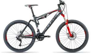 CUBE XMS 120 grey 'n red Fully 2013 für 999€