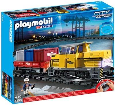 Galeria Kaufhof online - PLAYMOBIL 5258 Neuer RC-Güterzug mit Licht und Sound für 62,99 € - nur heute