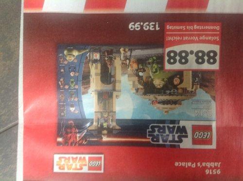 [LOKAL] Lego Star Wars Jabba's Palace, 9516 für 88,88 €, Lokal in den Famila Märkten