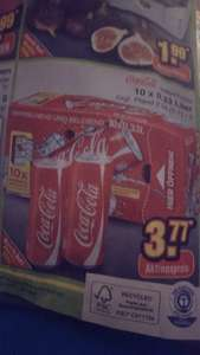 (LOKAL) Coca Cola 10 Dosen a 0.33l bei netto  am Samstag für 3.77€