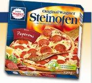 [Rewe]: Vorteilskarte [regional]: Wagner Steinofenpizza, Pizzies, Flammkuchen für 1,33€ von Do. 12.09. - Sa. 14.09.