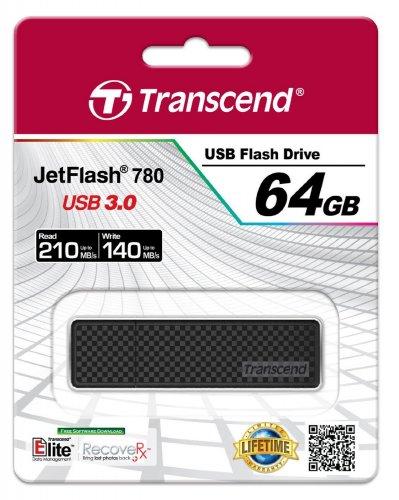 Transcend JetFlash 780 64 GB USB 3.0-Stick für 49,95 EUR @ AMAZON