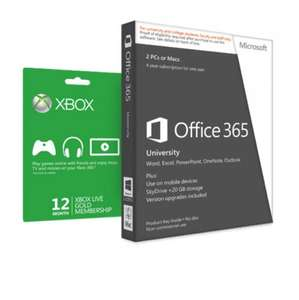 Office 365 + xbox live 12 monate für Studenten