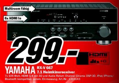 [Lokal] MM Ruhrpark Yamaha RX-V667 7.2 A/V-Receiver