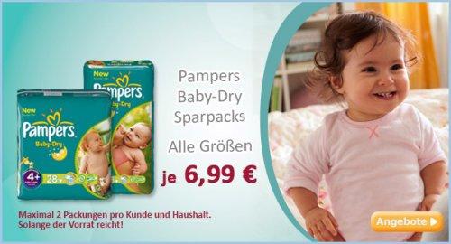 Pampers Baby dry Sparpacks (alle Größen)