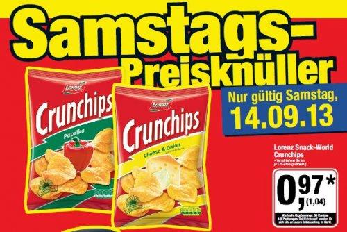 [metro] Crunchips für 1,04€ und 20%-Rabatt auf Bild- und Tonträger, PC- und Konsolen-Software am 14.09.13
