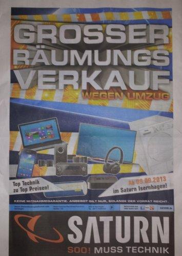 [Lokal Hannover] Räumungsverkauf im Saturn Hannover-Isernhagen