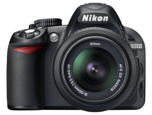 Nikon D3100 inkl.  AF-S DX NIKKOR 18-55 mm VR für 279€
