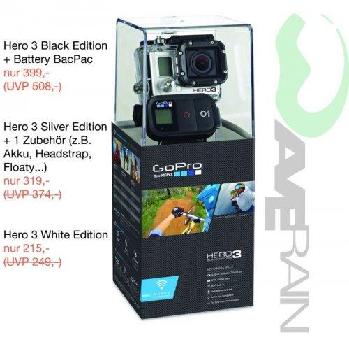 [Lokal: Erlangen] GoPro Hero 3 Black inkl. Battery BacPac