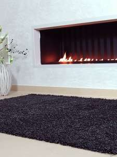 benuta Hochflor Shaggy Teppich Swirls(60x60) für 0,95€