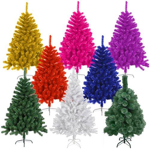 (Ebay) Künstlicher Weihnachtsbaum 120-300cm in verschiedenen Farben