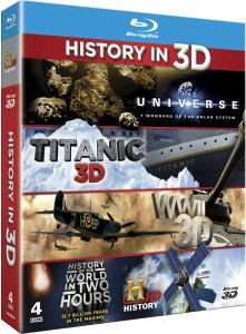 (UK) History in 3D [ 4 x Blu-ray] für ca. 15.94€ @ Zavvi