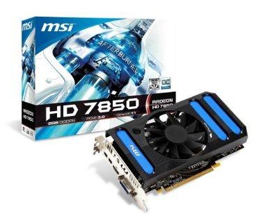 "MSI Grafikkarte HD7850 ""R7850 2GD5/OC"" für 129,85€ @ ZackZack"
