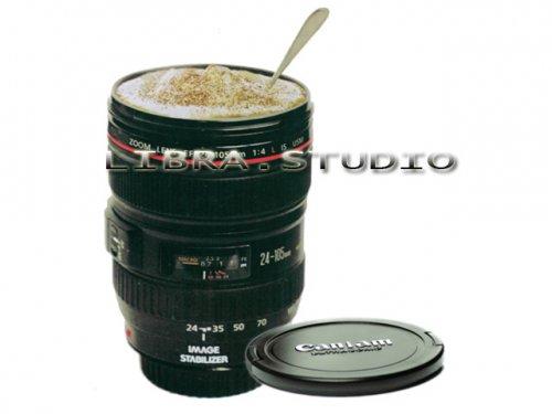 "(CN) Kamera Objektiv Tasse (bzw Stiftständer) ""Canon EF 24-105mm f/4L USM"" für 3,90€ @ Ebay"