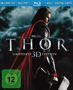 Thor (+ BR) [3D Blu-ray] für 11€ @Amazon