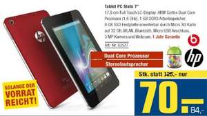 "HP Slate 7"" Tablet PC [Lokal @ Metro AT]"