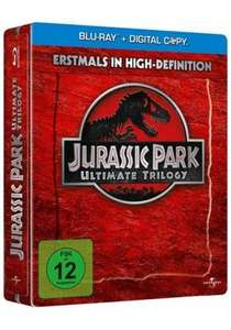 [Media-dealer.de] Jurassic Park – Ultimate Trilogy in der Limited Steelbook Edition [Blu-ray] - 19,95 EUR inkl. VSK