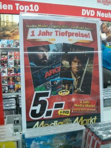 [Lokal] MM Leipzig Höfe am Brühl: Argo & Hobbit DVD je 5€ / Blu-ray je 9€