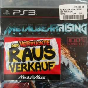 [Lokal] PS 3 Metal Gear Rising