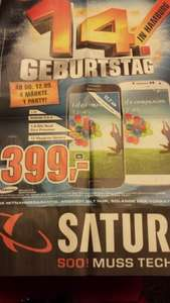 LOKAL Hamburg - Samsung Galaxy S4 - 399€!!!
