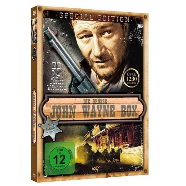 Große JOHN WAYNE Box mit 20 Western Klassiker für nur 7,90 EUR inkl. Versand
