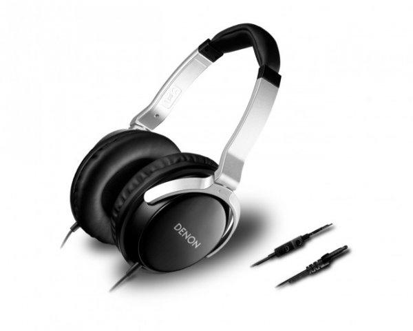 Denon AH-D510R On-Ear-Kopfhörer mit 3-Tasten-Fernbedienung für iPod-, iPhone + MIKRO für 29,99€ @ DC
