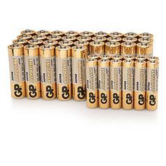 44 Alkaline-Batterien (Vorratspack) 45% runter